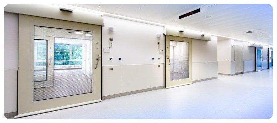 Автоматические двери для больниц